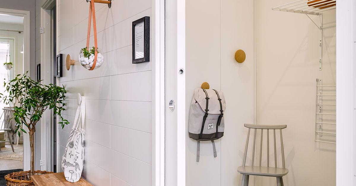 Eclisse Pocket Door - lisäarvoa asunnolle