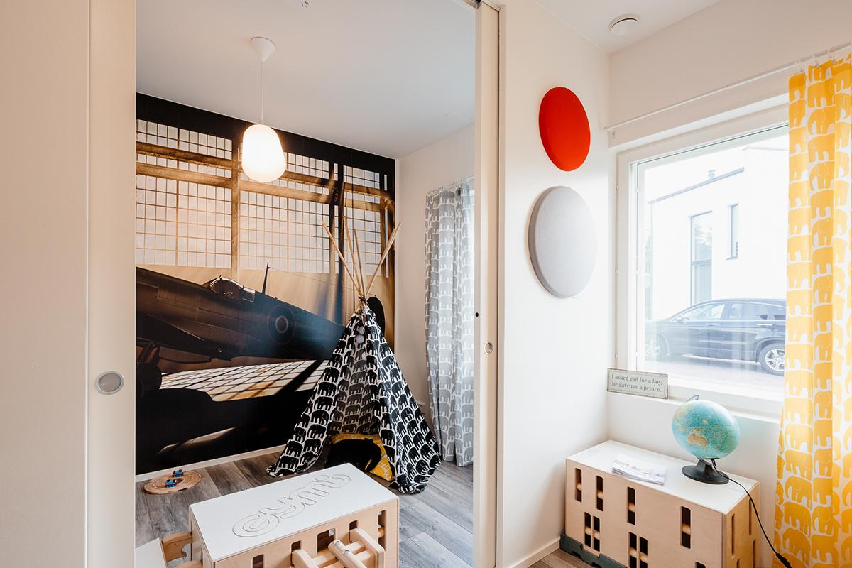Liukuovi seinän sisään - lisää tilaa kotiin