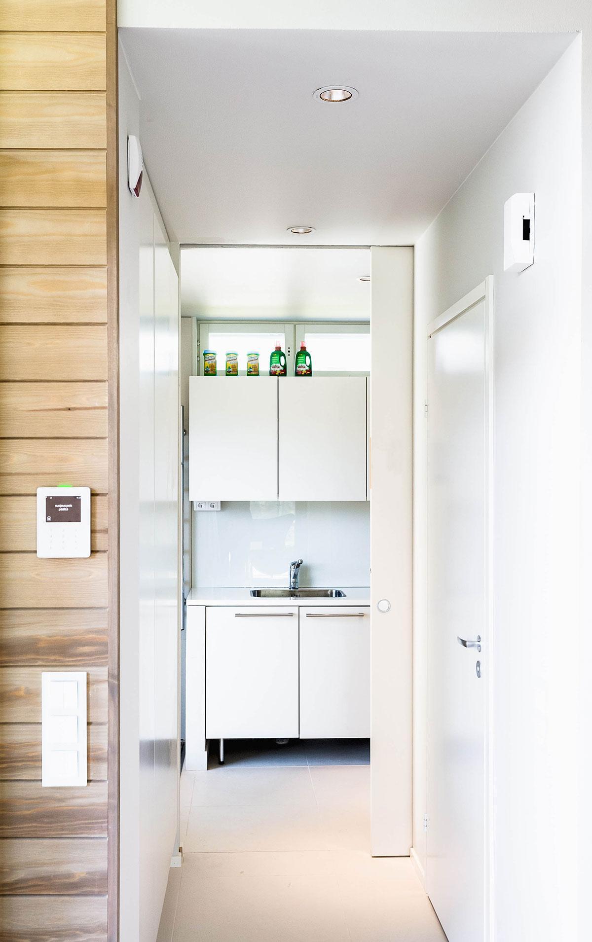 Liukuovet vapauttavat tilaa hyötykäyttöön kylpyhuoneessa